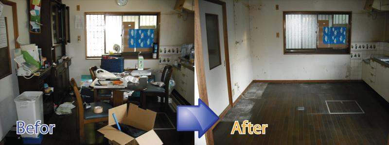 遺品整理やごみ屋敷の片付け、特殊清掃までさいたま市をはじめ埼玉県全域で承ります。