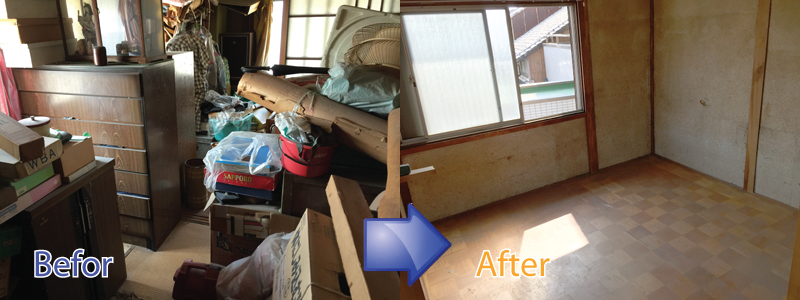 引越しや故人の遺品整理など埼玉リサイクルジャパンにお任せください